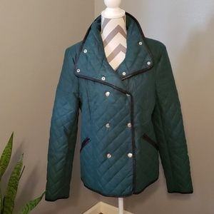 Jessica Simpson Double Breasted Quilted Jacket